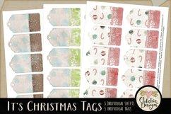 Christmas Tags - Printable It's Christmas Gift Tags Product Image 2