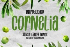 Web Font Cornelia - Sweet Fancy Font Product Image 1
