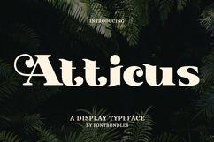 Web Font Atticus Product Image 1