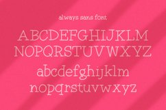 Always Font Duo Product Image 5