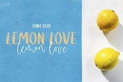 Lemon Love Font Duo Product Image 1