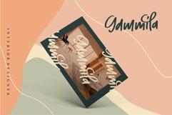 Web Font Hallish - A Handwritten Font Product Image 4