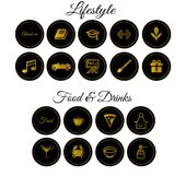 black gold instagram highlight covers .JPG Product Image 4