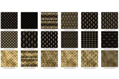 Victorian Black and Gold Digital Paper Product Image 3