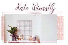 Graceful bouquet-lovely font&clipart Product Image 3