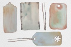 Watercolor gift boxes and tags Product Image 4