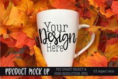 Fall mug Craft mock up   PSD & JPEG Product Image 1