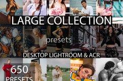 650 desktop lightroom presets, large collection   preset XMP Product Image 1