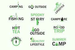 Camping and healthy lifestyle concepts Product Image 1