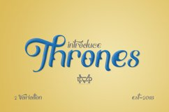 Thrones - Classic Typeface Product Image 4
