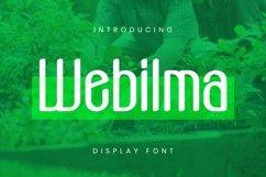 Web Font Webilma Font Product Image 1
