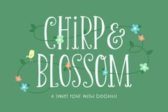 Chirp & Blossom Font Product Image 1
