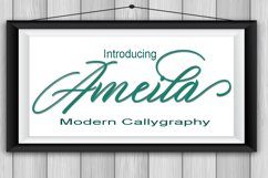 Ameila Script Product Image 1