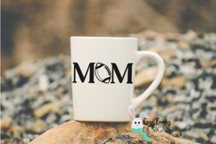 Football Mom SVG, Football Clipart, Mother's Day Football Product Image 3