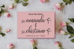Valentinoa | A Romantic Calligraphy Font Product Image 3