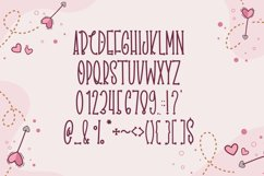 Dears Love - Cute Display Font Product Image 4