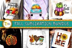 Fall Sublimation Cliparts Bundle Product Image 1