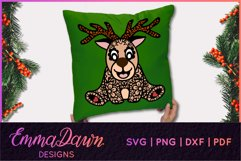 RUFUS THE REINDEER SVG CHRISTMAS MANDALA ZENTANGLE DESIGNS Product Image 8
