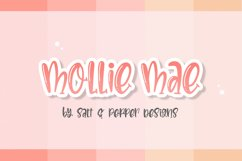 The Girly Font Bundle Product Image 5