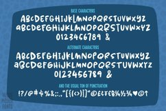 Spring Herbs - a bouncy, blobby, whimsical font! Product Image 2