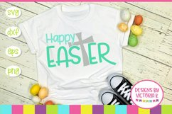 Happy Easter, Jesus, Cross, SVG, DXF, PNG Product Image 1