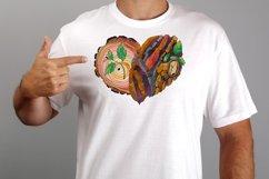 Hearts zentangle Product Image 3
