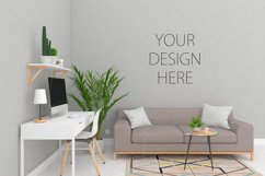 Interior mockup - blank wall mock up Product Image 2