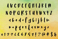Limetta - a fun handwritten font! Product Image 2