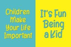 Kids Place Font Product Image 6