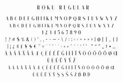 Roku - Modern Sans Serif Product Image 4