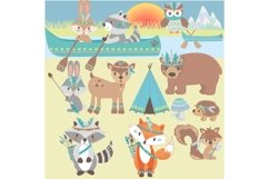 Tribal Animals Clipart Product Image 3