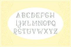 Leafy Monogram Font & Alphabet Product Image 2