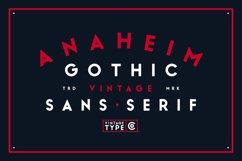 Anaheim Gothic Sans Product Image 1