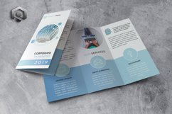 Corporate Trifold Brochure Product Image 1