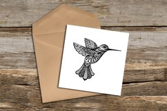 Colibri Template | SVG DXF EPS PSD PNG JPEG Product Image 2