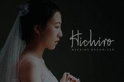 Hiroshima -  a  stylish  handwritten font Product Image 3