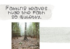 Fall Breeze - A Fun Handwritten Font Product Image 4