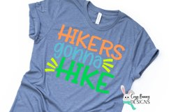 Hikers Gonna Hike SVG - Outdoor Backpacking SVG Product Image 1