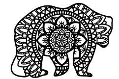 Wild Animal Mandala Bundle SVG Product Image 2