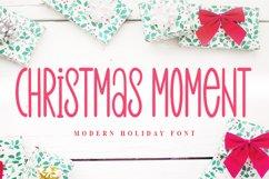 Christmas Moment - Modern Holiday Font Product Image 1