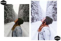 10 Snowy Dream Photoshop Actions And ACR Presets, Ps Winter Product Image 3