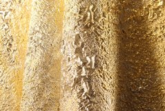 gold background, folds of brocade fabric. Product Image 1