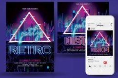 Disco Retro Party Flyer Product Image 3