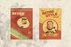 Avatars Retro people vector cartoon Product Image 6