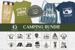 Camping svg bundle - outdoor adventure svg png eps dxf Product Image 1