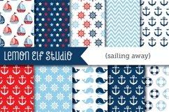 Sailing Away-Digital Paper (LES.DP13A) Product Image 1