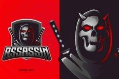 Reaper assassin mascot logo Product Image 1