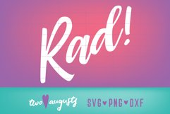 Rad, Vibes, eighties, 80s, neon, theme, party, totally, cool Product Image 1