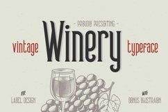Winery typeface + bonus Product Image 1