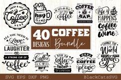 Coffee SVG bundle 40 designs Coffee SVG bundle Product Image 5
